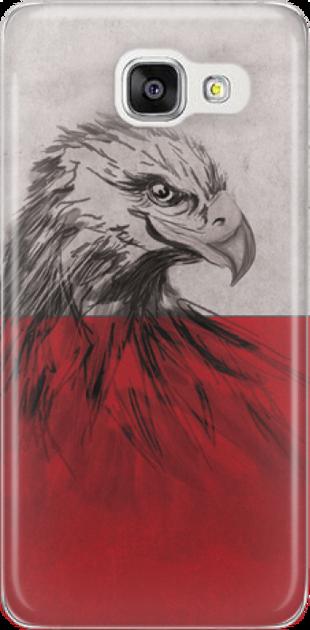 Funny Case ETUI SAMSUNG A5 2016 EAGLE