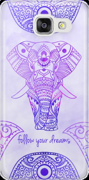 Funny Case ETUI SAMSUNG A5 2016 ELEPHANT