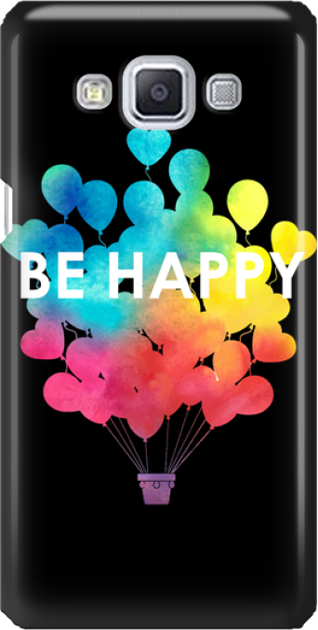 Funny Case ETUI SAMSUNG A5 BE HAPPY
