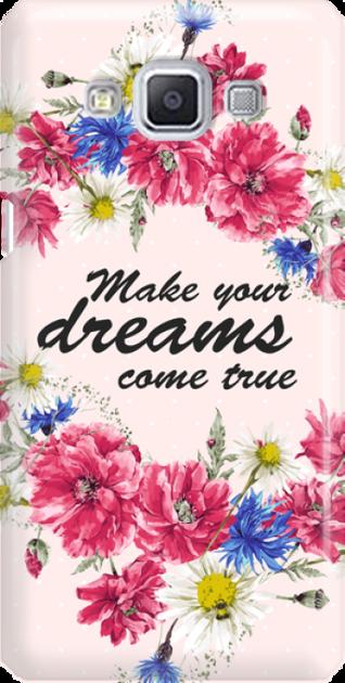 Funny Case ETUI SAMSUNG A5 DREAMS FLOWERS