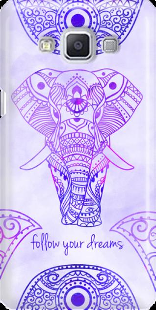 Funny Case ETUI SAMSUNG A5 ELEPHANT