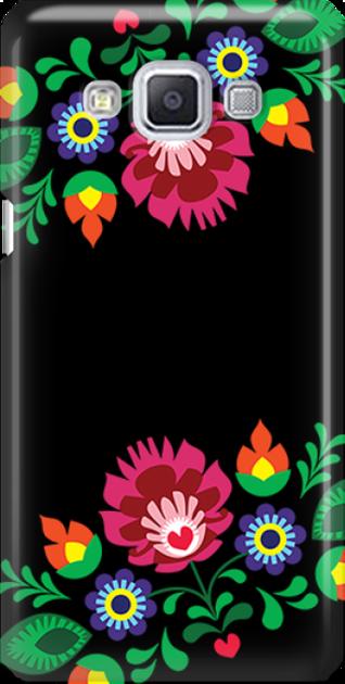 Funny Case ETUI SAMSUNG A5 FOLK BLACK