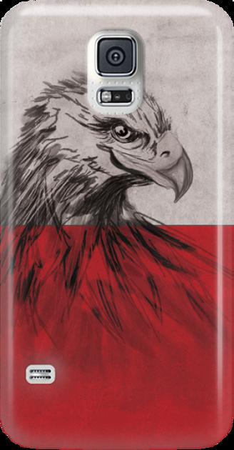 Funny Case ETUI SAMSUNG S5 EAGLE