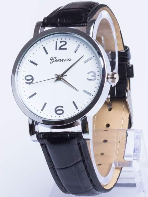 GENEVA Klasyczny zegarek Geneva na skórzanym pasku
