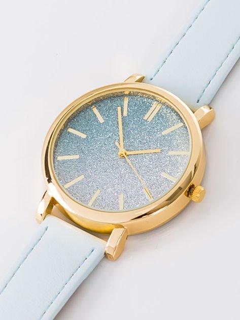GLITTER OMBRE błekitny zegarek damski                              zdj.                              2