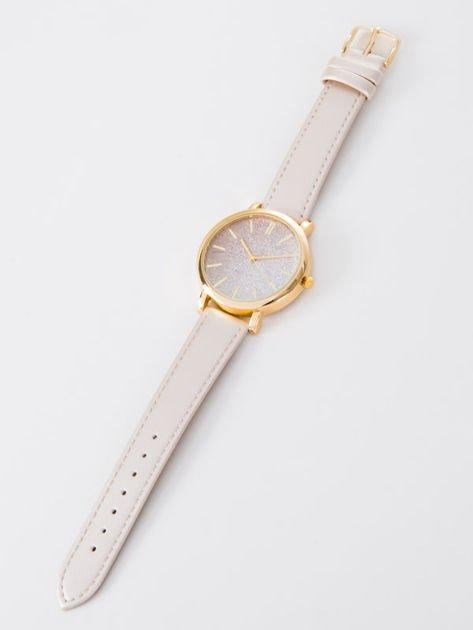 GLITTER OMBRE złoty zegarek damski                               zdj.                              3