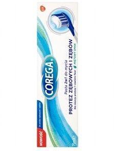 GSK Corega Pasta 2 w 1 do mycia protez zębowych i zębów  75 ml