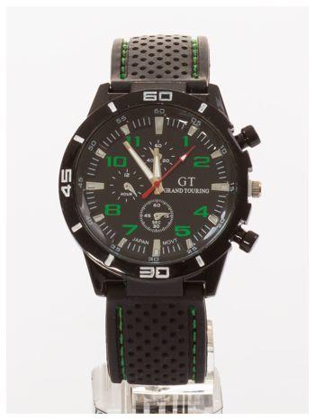 GT Czarno-zielony sportowy zegarek męski GRAND TOURING                                  zdj.                                  1