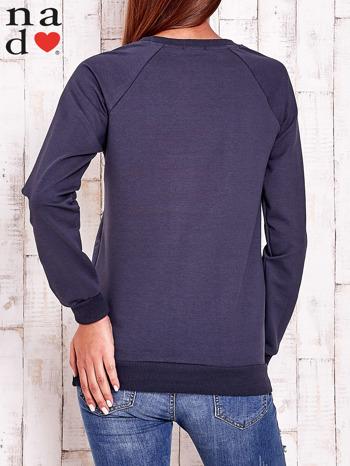 Grafitowa bluza w serduszka                                  zdj.                                  5