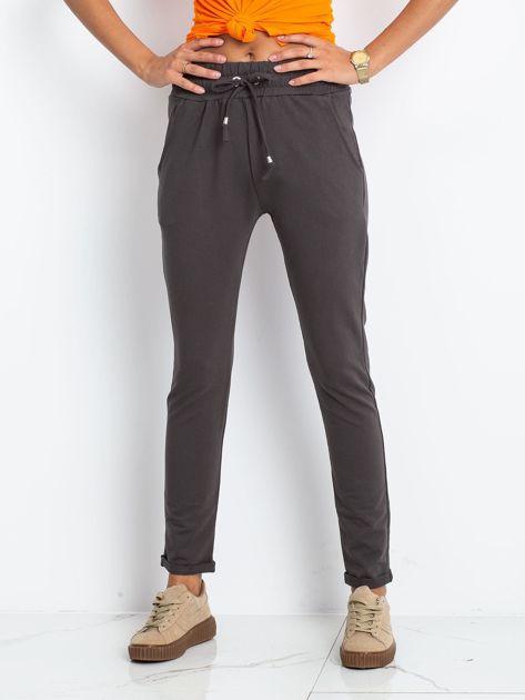 Grafitowe spodnie Cadence                              zdj.                              1