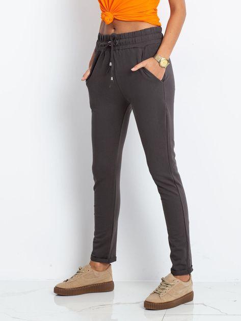 Grafitowe spodnie Cadence                              zdj.                              3