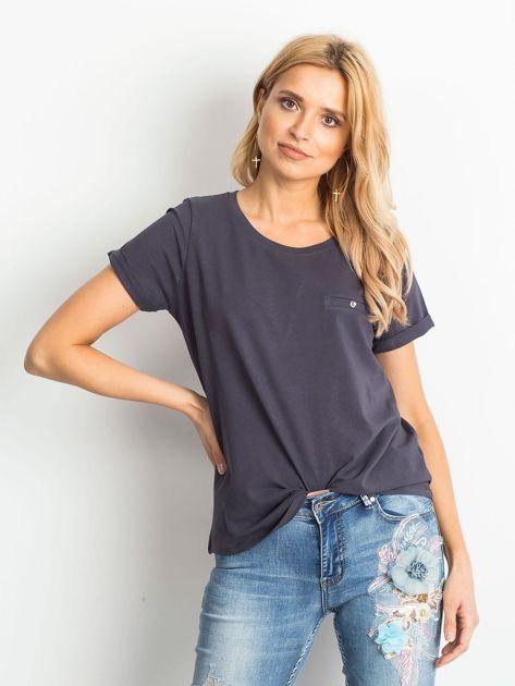 Grafitowy t-shirt Transformative                              zdj.                              1