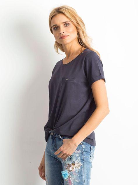 Grafitowy t-shirt Transformative                              zdj.                              3