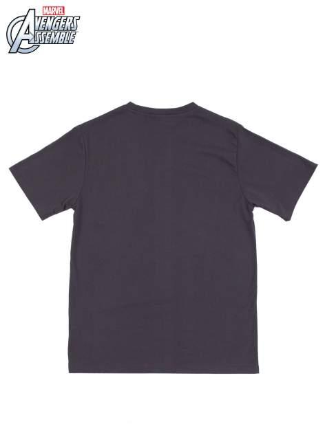 Grafitowy t-shirt męski AVENGERS                                  zdj.                                  9
