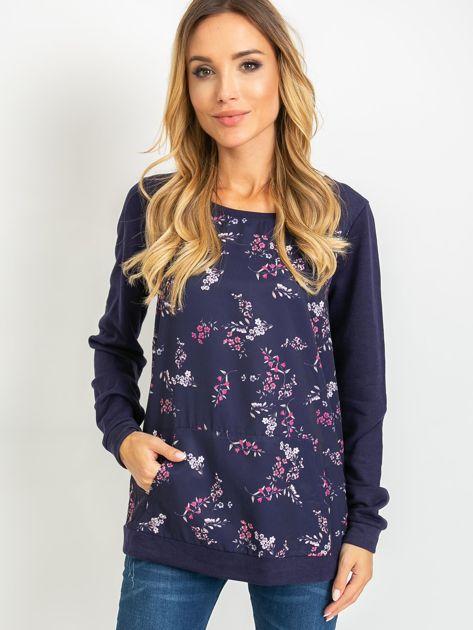 Granatowa bluza Mayfair                              zdj.                              1