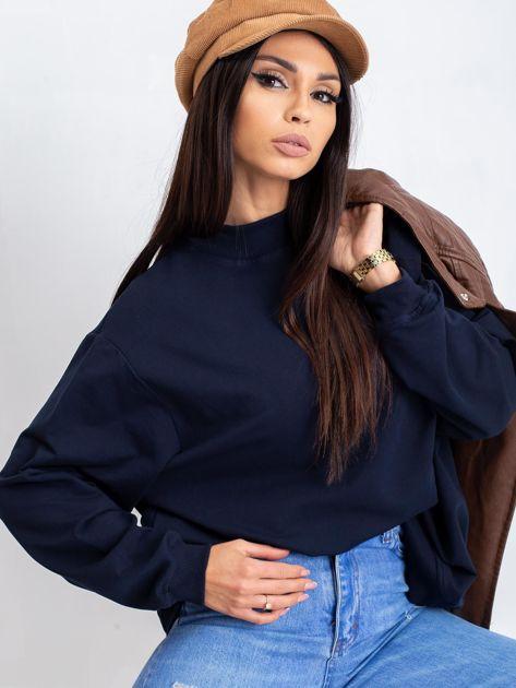 Granatowa bluza Twist                              zdj.                              5