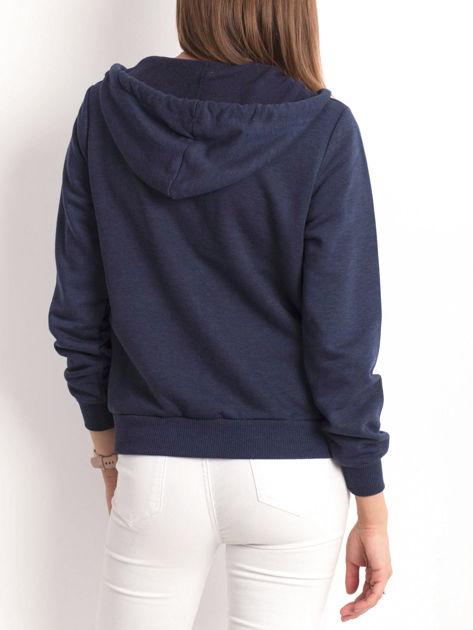 Granatowa bluza Warmth                              zdj.                              2