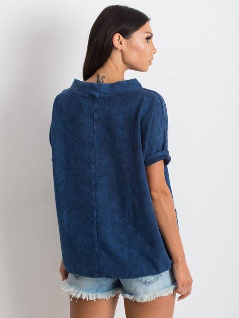 Granatowa bluzka Affordability                              zdj.                              2