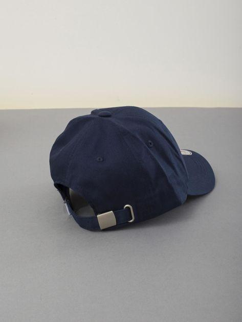 Granatowa czapka z daszkiem                              zdj.                              3
