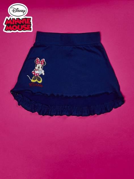 Granatowa spódnica dla dziewczynki MINNIE MOUSE                                  zdj.                                  1