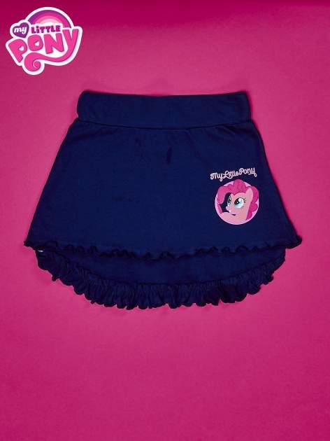 Granatowa spódnica z falbanami dla dziewczynki MY LITTLE PONY