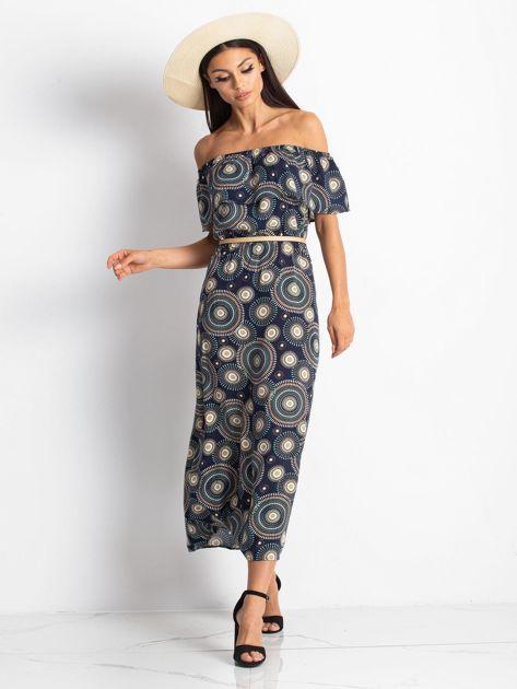 Granatowa sukienka Faraway                              zdj.                              4