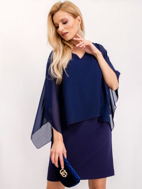 Granatowa sukienka Isabela