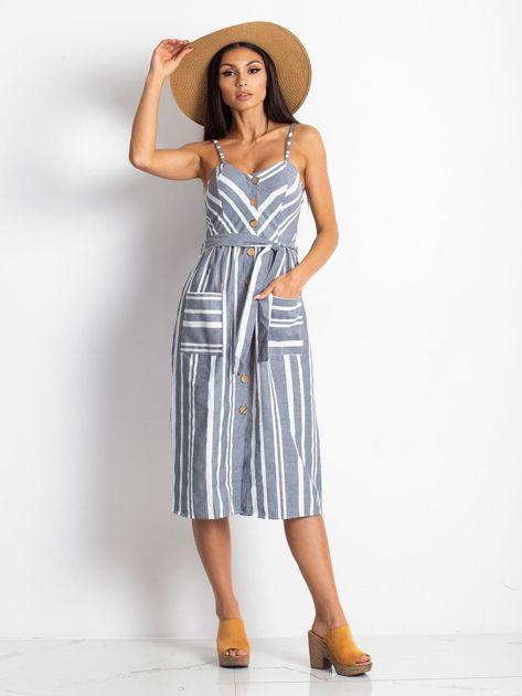 Granatowa sukienka Legitimately                              zdj.                              4