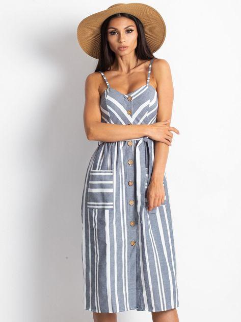 Granatowa sukienka Legitimately                              zdj.                              6
