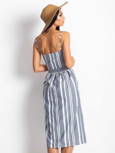 Granatowa sukienka Legitimately                              zdj.                              2