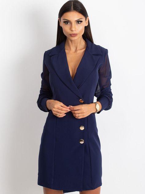 Granatowa sukienka Master                              zdj.                              1