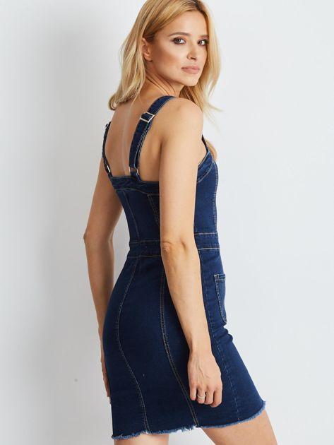 Granatowa sukienka Montgomery                              zdj.                              2