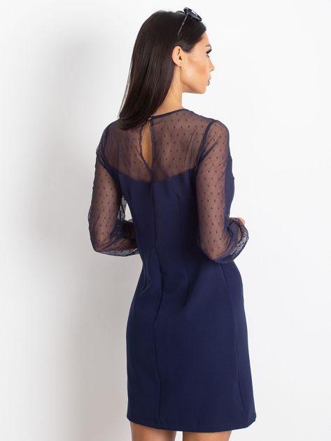 Granatowa sukienka Vanity                              zdj.                              2