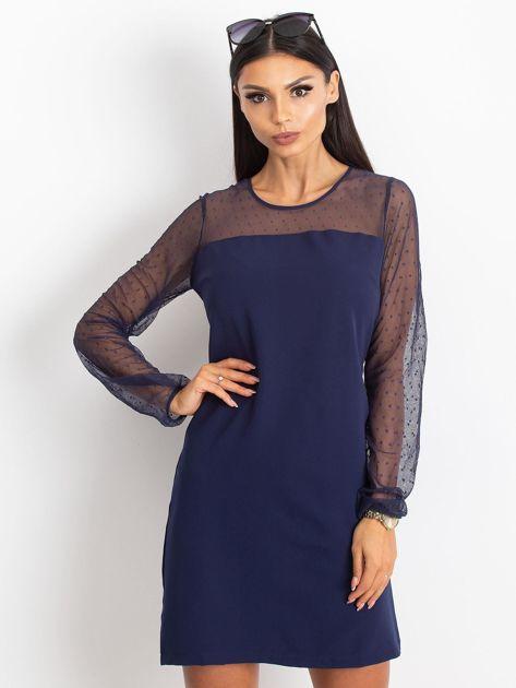Granatowa sukienka Vanity                              zdj.                              6