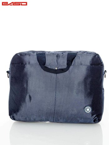 Granatowa torba na laptopa