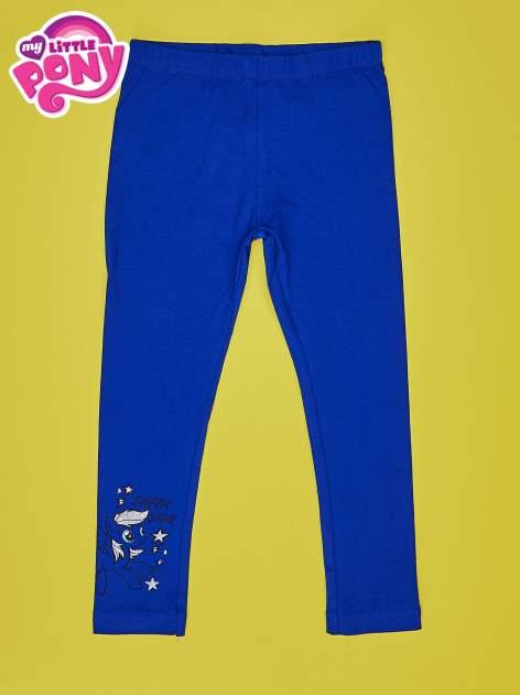 Granatowe legginsy dla dziewczynki MY LITTLE PONY                                  zdj.                                  1