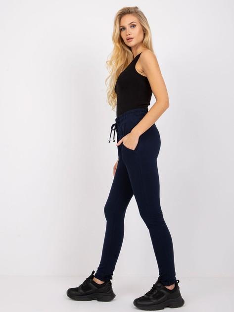 Granatowe spodnie Cadence                              zdj.                              2