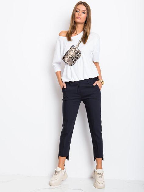 Granatowe spodnie This                              zdj.                              4