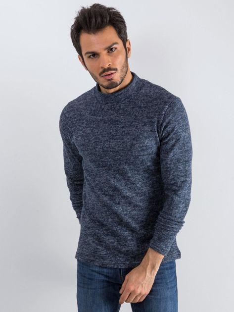 Granatowy sweter męski Allow                              zdj.                              3