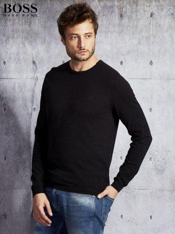 HUGO BOSS Czarny sweter męski                               zdj.                              5