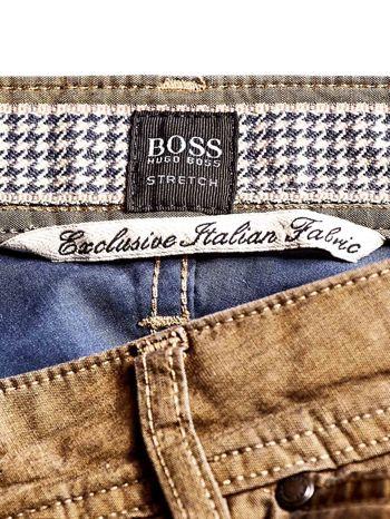 HUGO BOSS Khaki spodnie męskie                                  zdj.                                  4