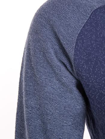 """HipsterCat' Niebieska bluza z nadrukiem kota                                  zdj.                                  5"
