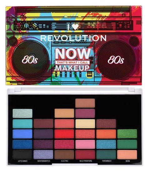 I Heart Revolution NOW That's What I Call Makeup 80s Paleta 27 cieni 13,5 g