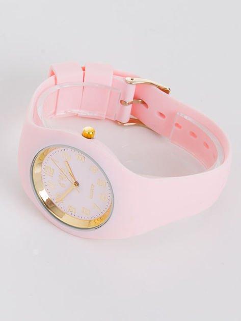 JELLY jasno różowy zegarek damski                               zdj.                              2