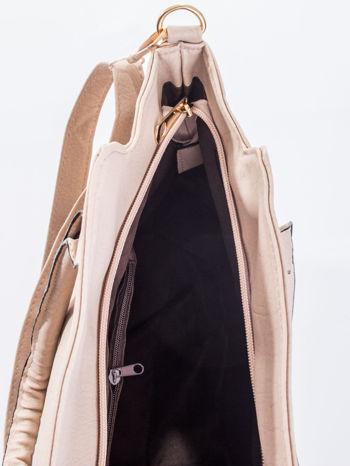 Jasnobeżowa torba shopper bag                                  zdj.                                  13