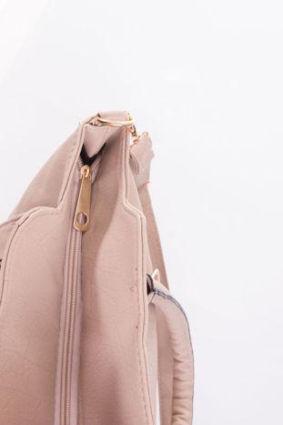 Jasnobeżowa torba shopper bag                                  zdj.                                  10