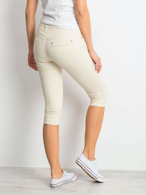 Jasnobeżowe spodnie Within                              zdj.                              2