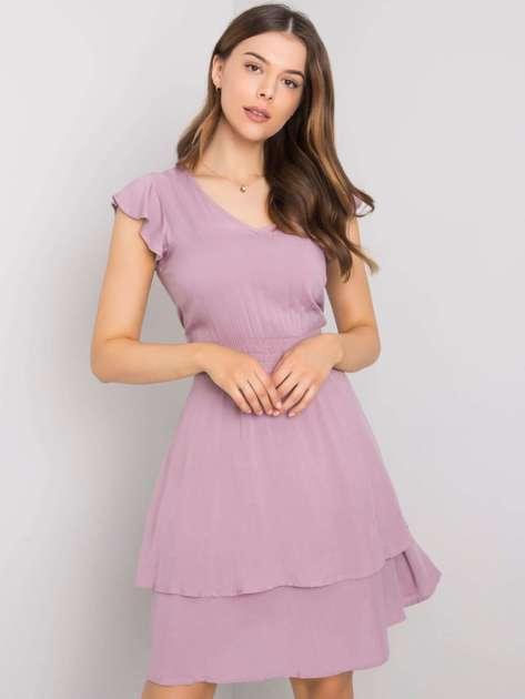 Jasnofioletowa sukienka Melinda SUBLEVEL