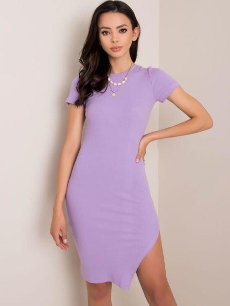 Jasnofioletowa sukienka Rebecca RUE PARIS
