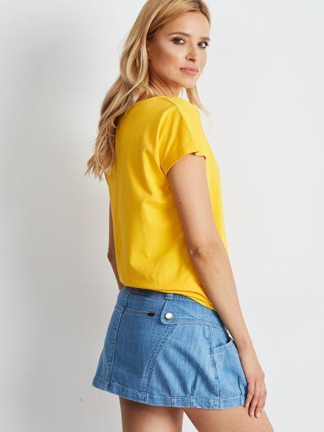 Jasnoniebieska spódnica Misscity                              zdj.                              3